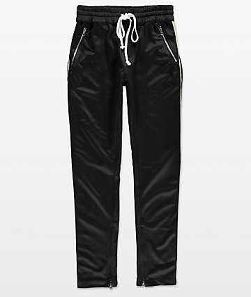 Crysp FB  pantalones de chándal en negro y gris