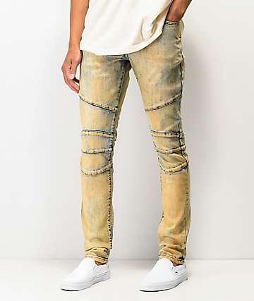42c0d4964fc824 Crysp Montana Dirty Wash Denim Jeans