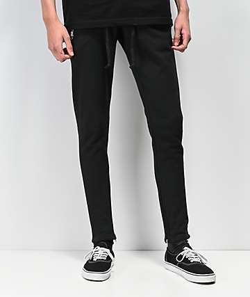 Crysp Perry Black Sweatpants