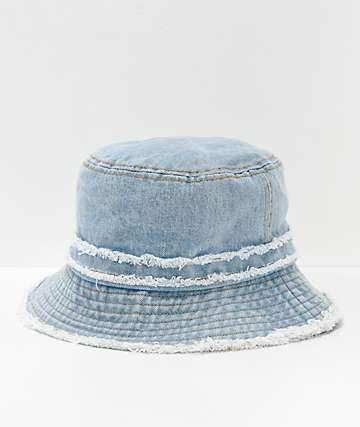 D & Y sombrero de cubo de mezclilla