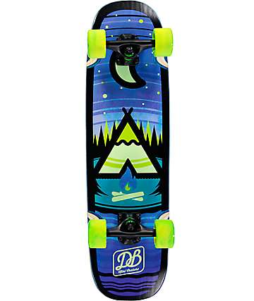 """DB Camp 28.75"""" tabla de skate mini cruiser completo"""