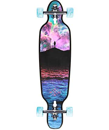 "DB Galaxy 36""  Drop Through Longboard Complete"