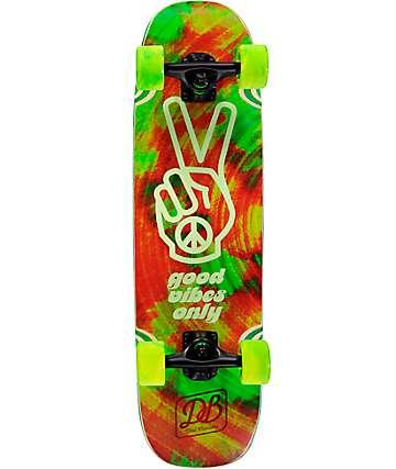 "DB Good Vibes 28.75"" tabla de skate mini cruiser completo"