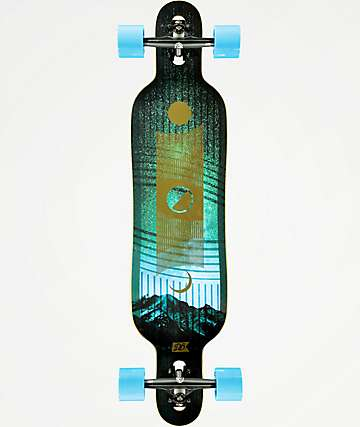 "DB Phase 38"" Drop Through Longboard Complete"