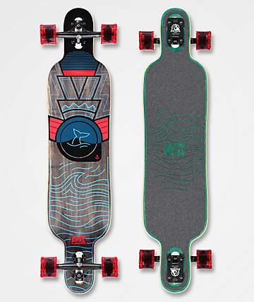 "DB Pioneer 40"" Drop Through longboard completo"