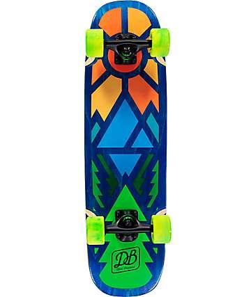 """DB Timber 28.75"""" tabla de skate mini cruiser completo"""