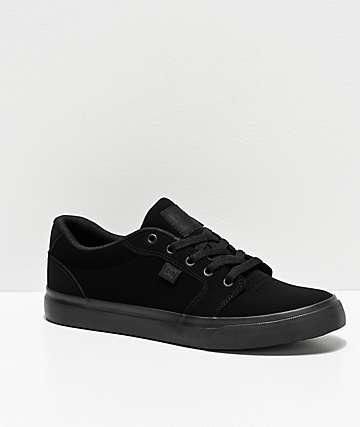 DC Anvil All Black Skate Shoes