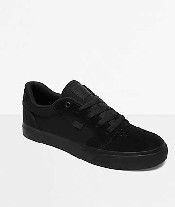 57824aae8 DC Anvil TX SE Black Skate Shoes