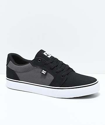 DC Anvil TX zapatos de skate en gris y negro