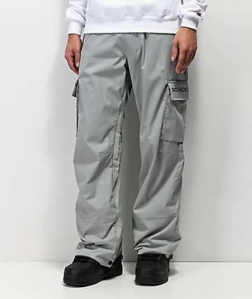 DC Banshee Grey 10K Snowboard Pants
