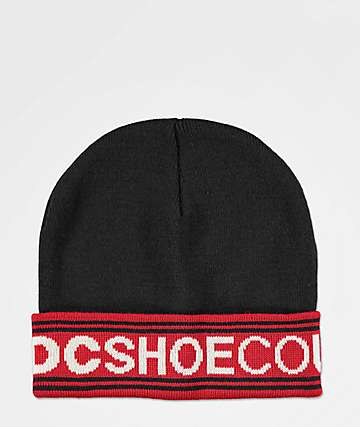 DC Bean Doggel Black Beanie