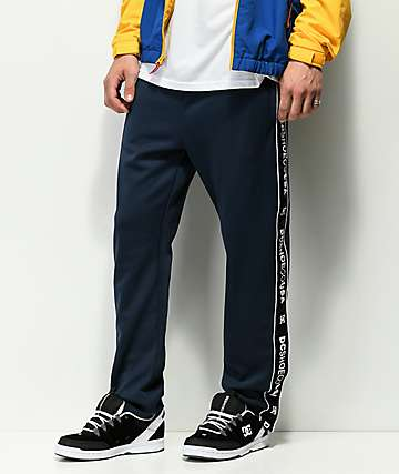 DC Bellingham pantalones de chándal en azul marino