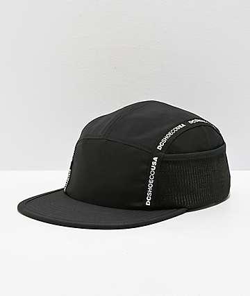 DC Blockage Logo gorra negra