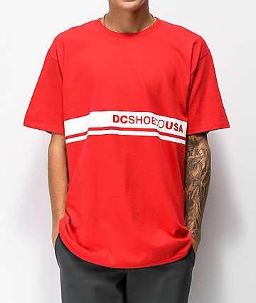 DC Bloklyn Tango Red T-Shirt