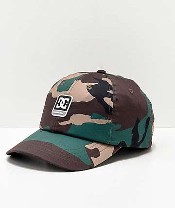 DC Camolit Strapback Hat