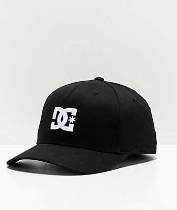 DC Cap Star 2 Black FlexFit Hat