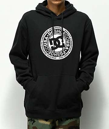 DC Circle Star Black Hoodie