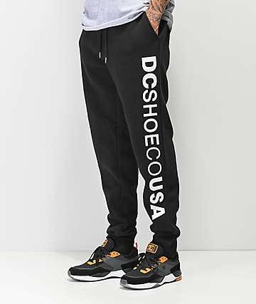 DC Clewiston pantalones deportivos en negro