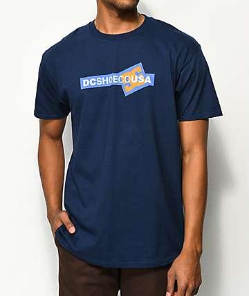 DC Cornered camiseta azul