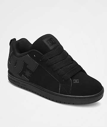 DC Court Graffik zapatos de skate negros
