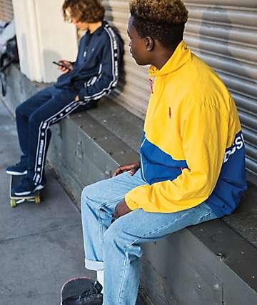 DC Denhill Blue & Yellow Jacket