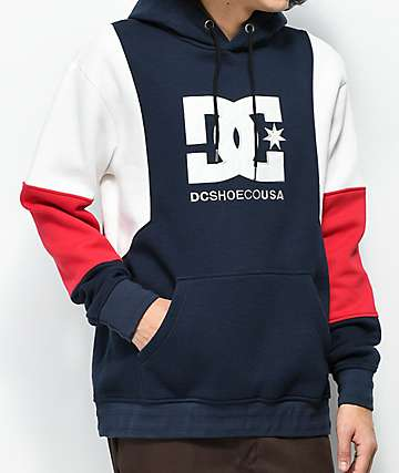 DC Doney Navy, Red & White Hoodie