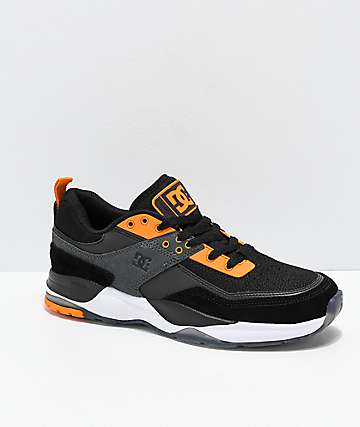 DC E. Tribeka S SE zapatos en naranja, negro y blanco