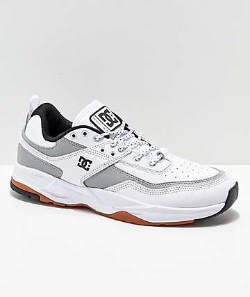 DC E. Tribeka SE zapatos en blanco y gris