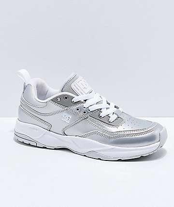 DC E. Tribeka SE zapatos en plata metalizada