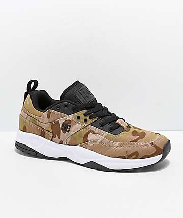 DC E. Tribeka TX SE Camo Skate Shoes