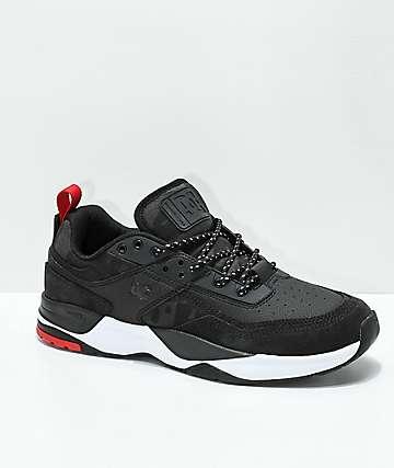 DC E. Tribeka zapatos en negro y camuflaje