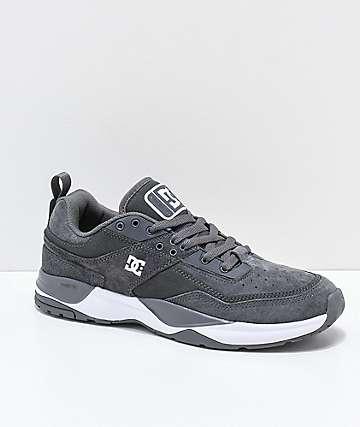 DC E.Tribeka Pewter zapatos grises