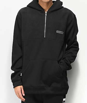 DC Eaglemount Black Tech Fleece Hoodie