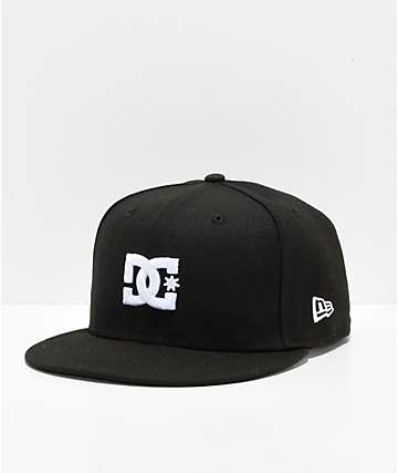DC Empire Fielder Black & White Snapback Hat