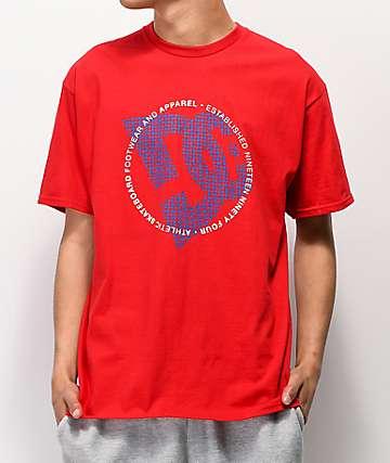 DC Fourtex Red T-Shirt