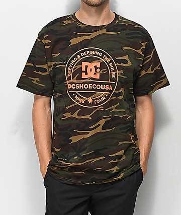DC Full On camiseta de camuflaje
