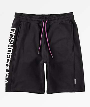DC Glynroad Black Sweat Shorts