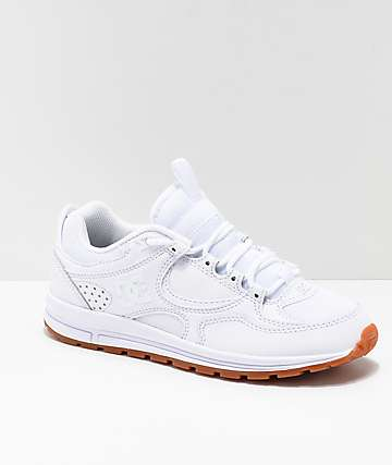 DC Kalis Lite White & Gum Shoes