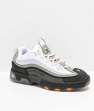 DC Legacy OG zapatos en negro, gris y blanco