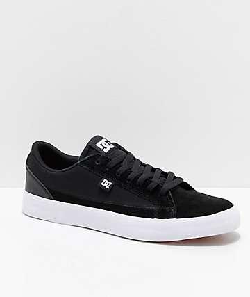 DC Lynnfield S Black & White Skate Shoes