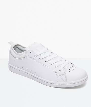 DC Magnolia White & White Shoes