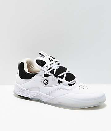 DC Manolo Kalis Lite SE White Skate Shoes