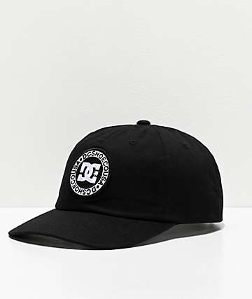 DC Needhosen 2 Black Strapback Hat