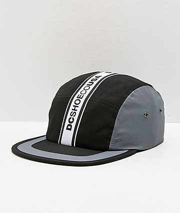 DC Overdraft Logo gorra negra y gris