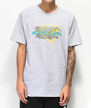 DC Pillery Heather Grey T-Shirt
