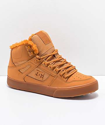 DC Pure Winter Wheat High Top Boots