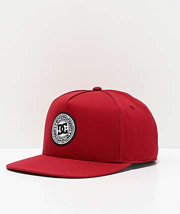 DC Reynotts Red Snapback Hat