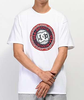 DC Rotunda White T-Shirt