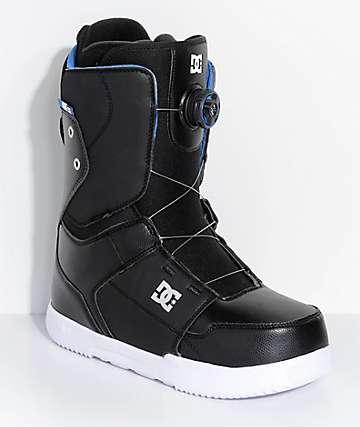 DC Scout Boa botas de snowboard negras
