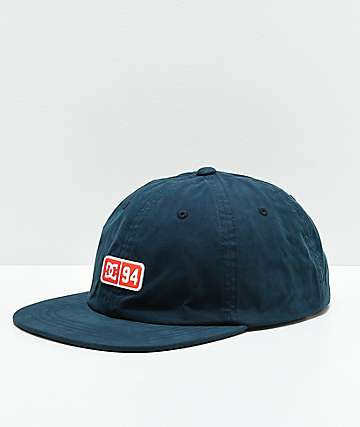 DC Severs Crusher Navy Strapback Hat